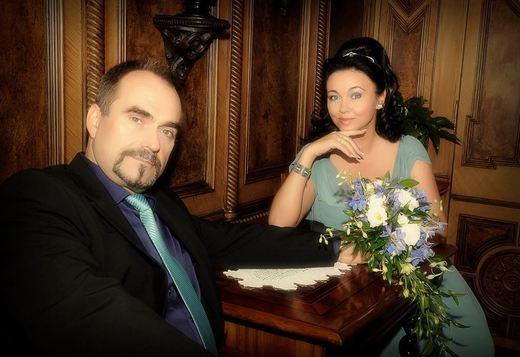Svatební fotografie astroložka Kateřina a manžel Stanislav